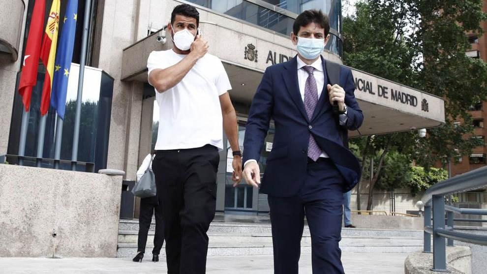 دييغو كوستا يحضر في المحكمة ويتفادى السجن!