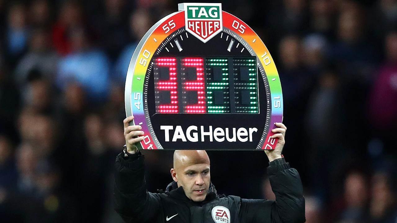 الدوري الإنكليزي: 5 تغييرات في المباراة