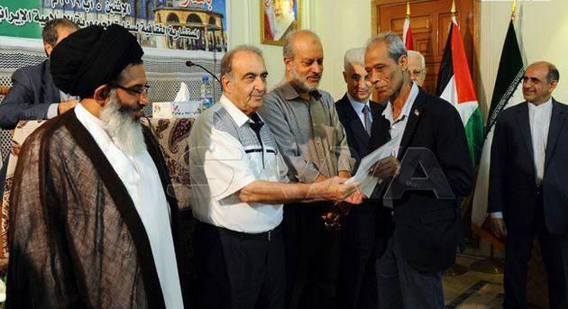 """""""صفقة القرن لن تمر"""".. مسابقة إيرانية للإبداع الأدبي في دمشق"""