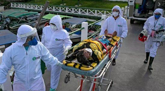 البرازيل: ثالث أعلى نسبة في العالم بعدد الإصابات بكورونا