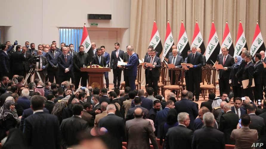 حكومة الكاظمي تكتمل.. البرلمان العراقي يمنح 7 وزراء الثقة
