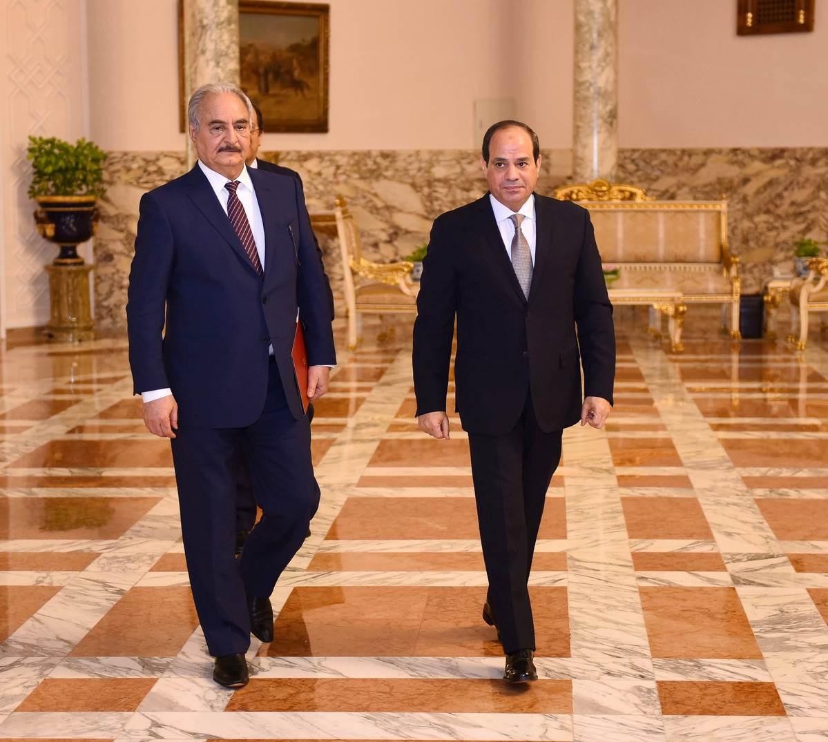 السيسي يعلن مبادرة لإنهاء أزمة ليبيا تتضمن وقف إطلاق النار خلال يومين