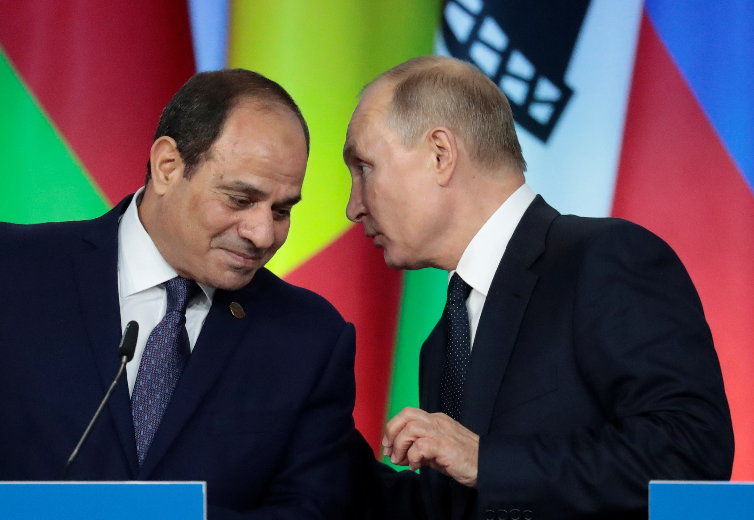 بوتين يثمّن في اتصال مع السيسي المبادرة المصرية في الملف الليبي