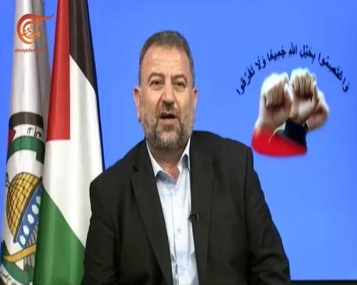 """العاروري: إشعال الفتنة الطائفية في لبنان من مصلحة """"إسرائيل"""" وأميركا"""