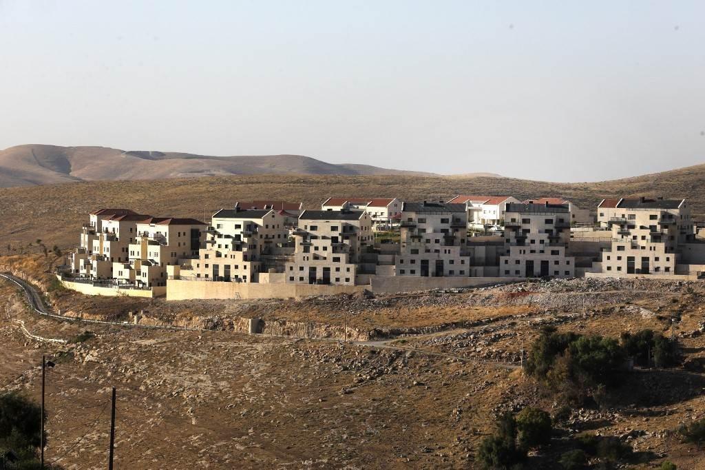 صورة من الضفة الغربية شرقي القدس (أ ف ب).