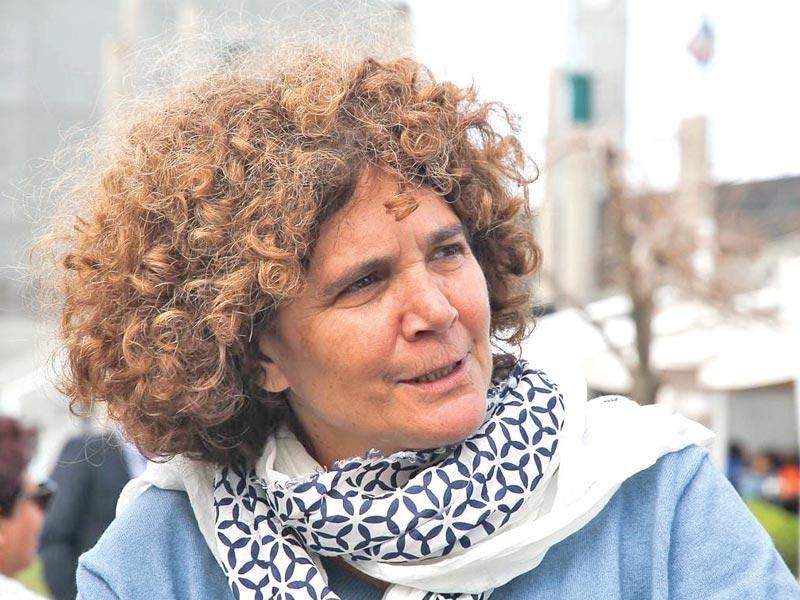 المخرجة الفلسطينية