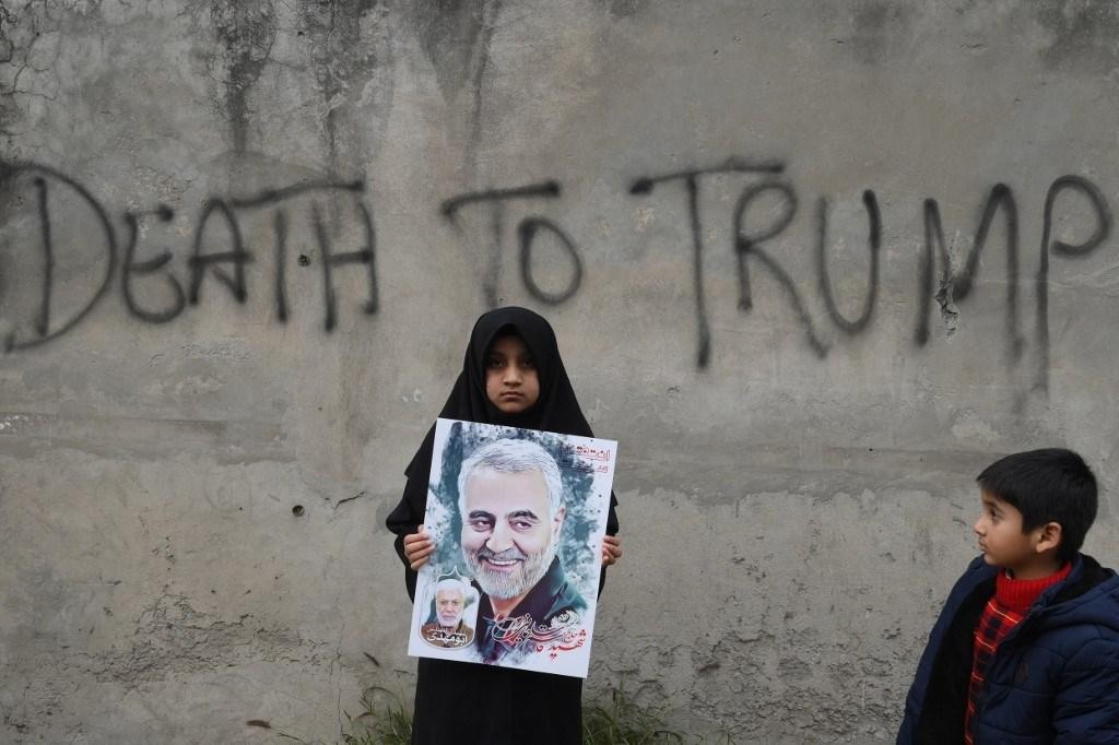 من مظاهرة ضد الولايات المتحدة في باكستان يوم 12 كانون الثاني/يناير الماضي (أ.ف.ب)