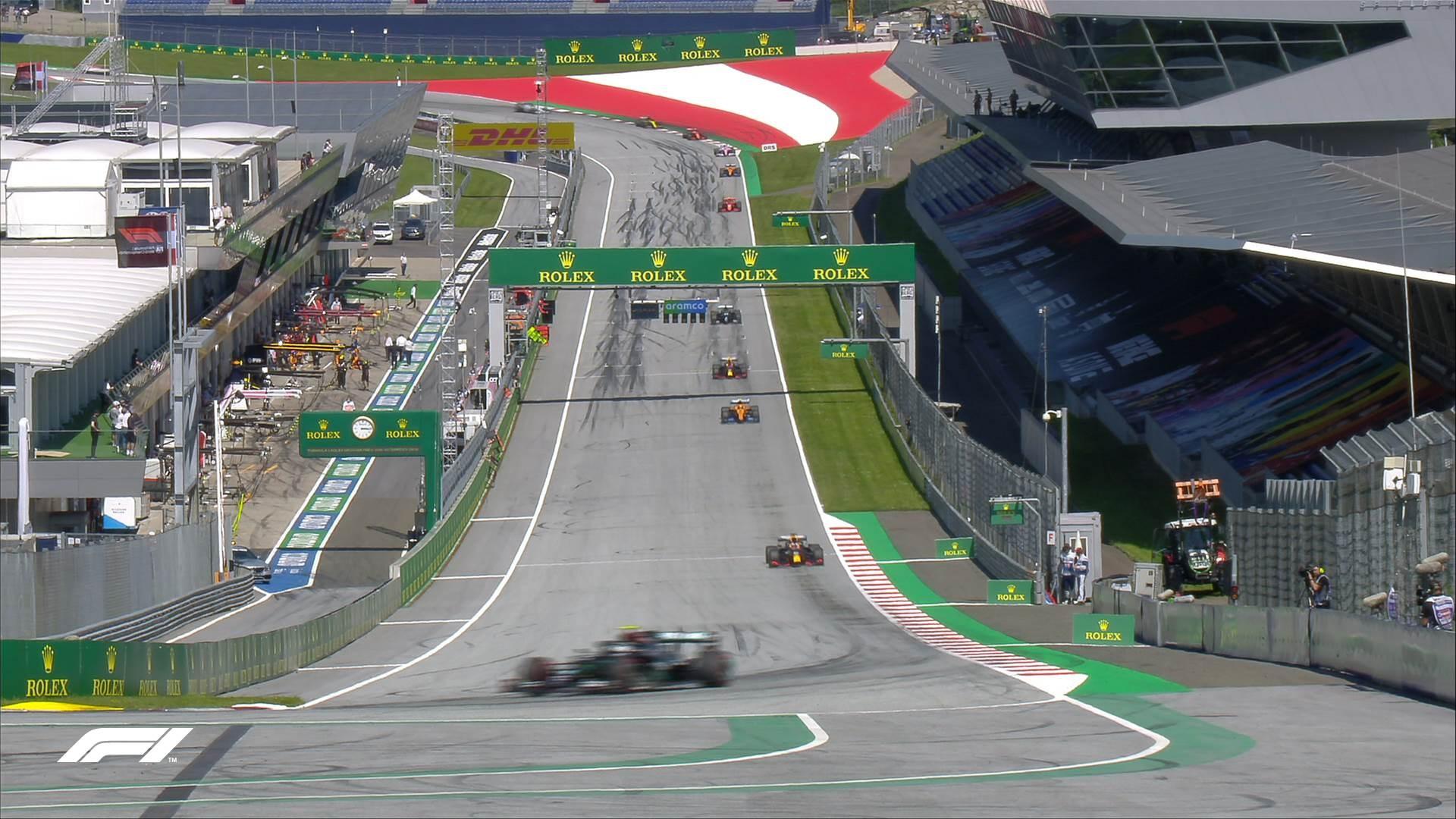 سباق جائزة النمسا الكبرى الأسبوع الماضي