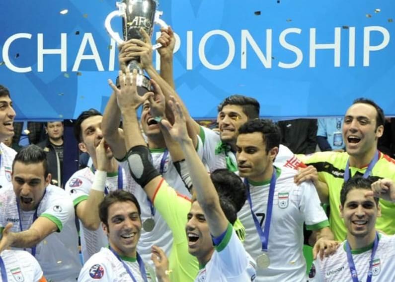 يُعَدّ منتخب إيران من أقوى المنتخبات في العالم في كرة القدم للصالات وهو الأول آسيوياً منذ أعوام