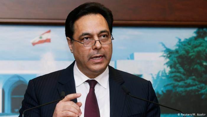 دياب: الحكومة اللبنانية لن تستقيل
