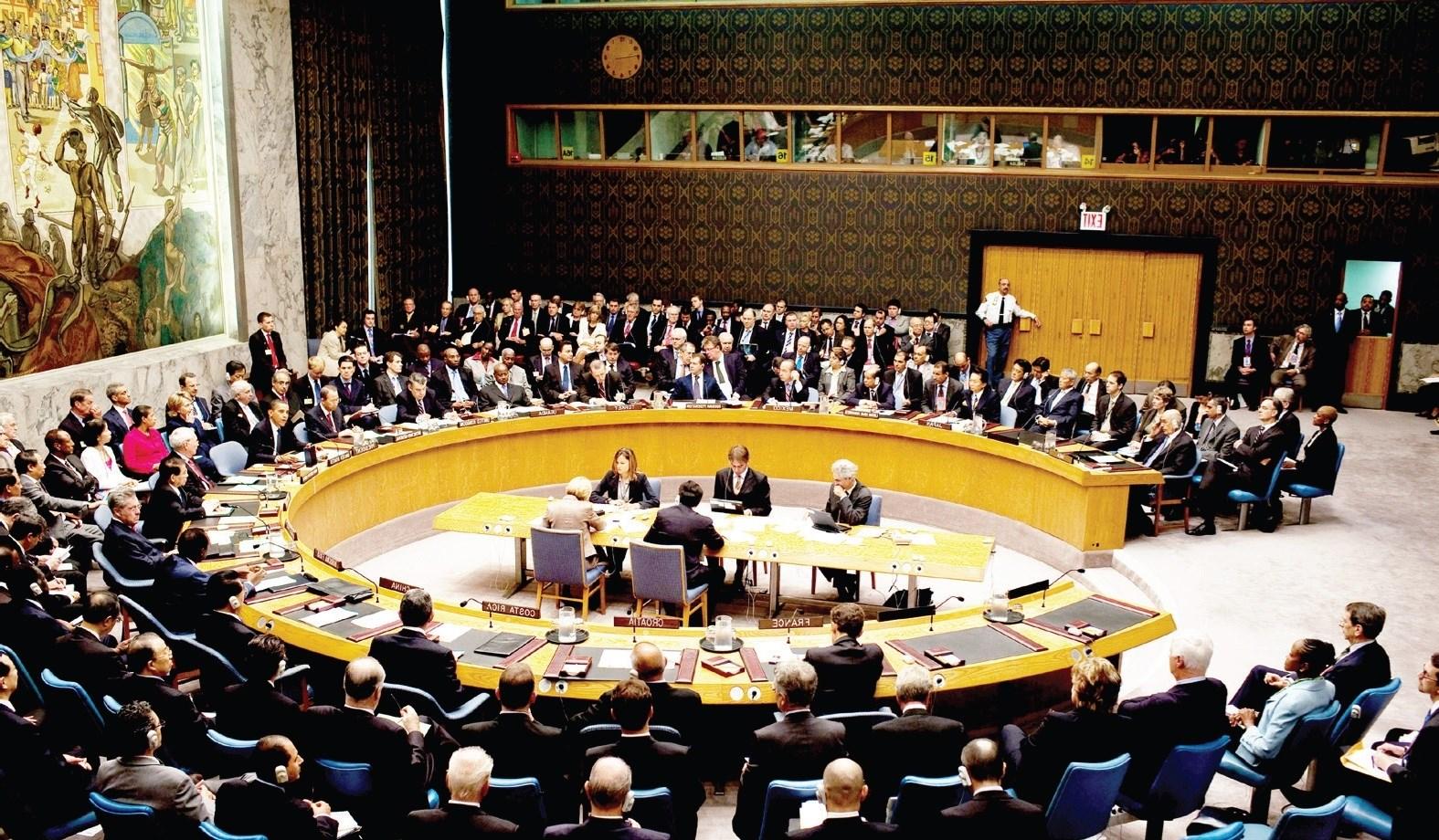 رئيس مجلس الأمن: مشروع القرار الألماني البلجيكي لم يمر