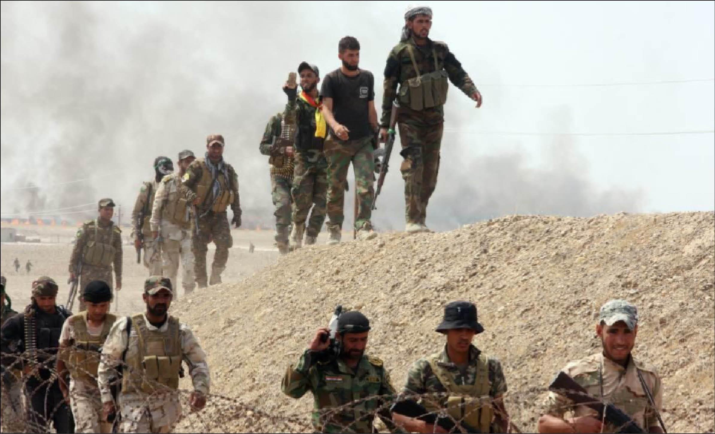 القوات العراقية أطلقت عملية