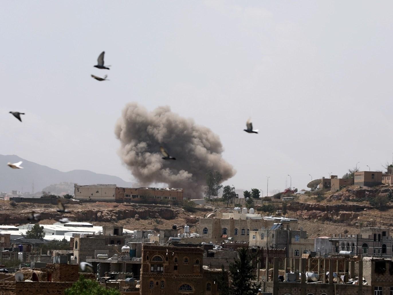 مجزرة جديدة للتحالف السعودي في اليمن حصيلتها الاولية عشرة شهداء