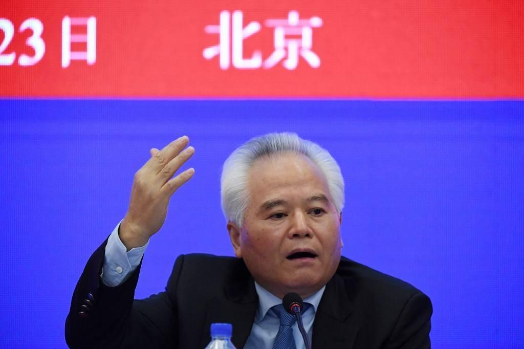 رئيس المعهد الصيني لدراسات بحر الصين الجنوبي يتحدث حول القوة العسكرية الأميركية في المحيط الهادئ (أ ف ب).