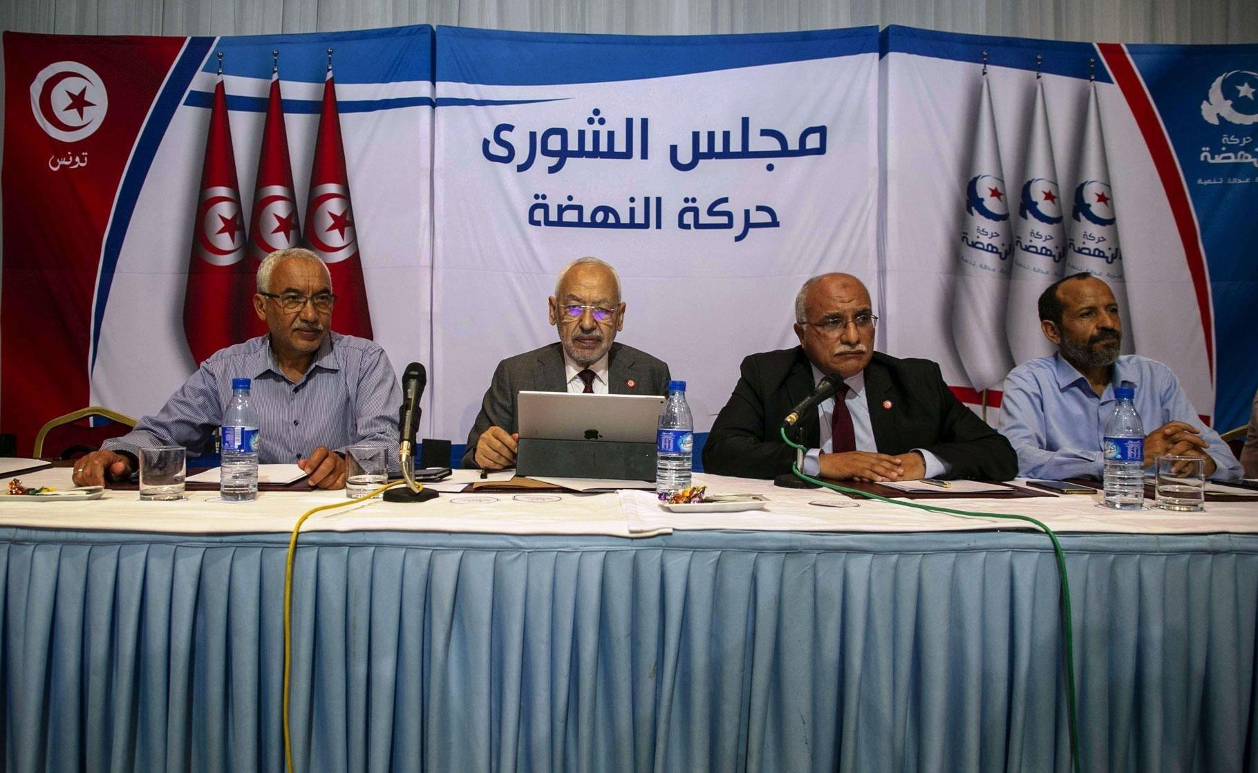 مجلس شورى حركة النهضة يكلف رئيس الحركة راشد الغنوشي بمتابعة تنفيذ خيار سحب الثقة