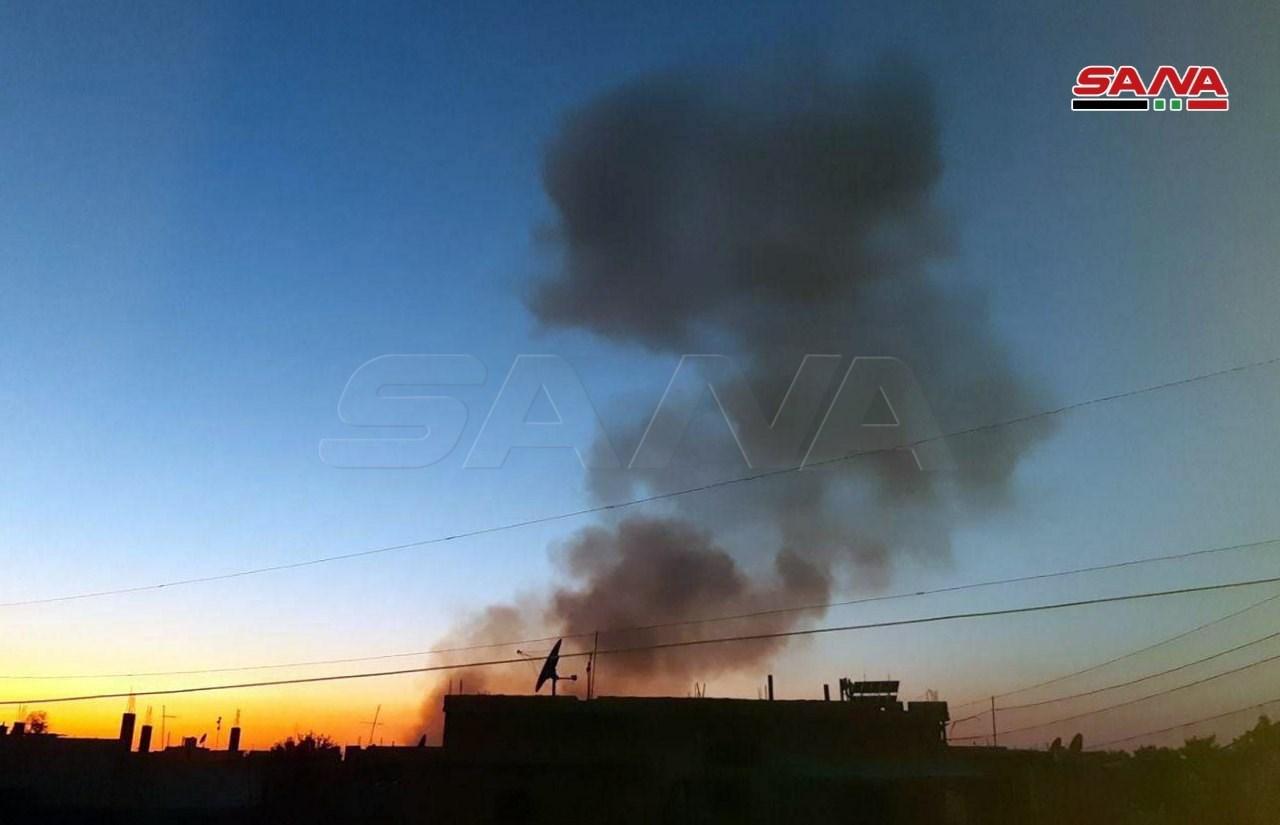 انفجار عنيف بالقرب من مقر القيادة العامة لقوات سوريا الديمقراطية في حي مشيرفة في الحسكة