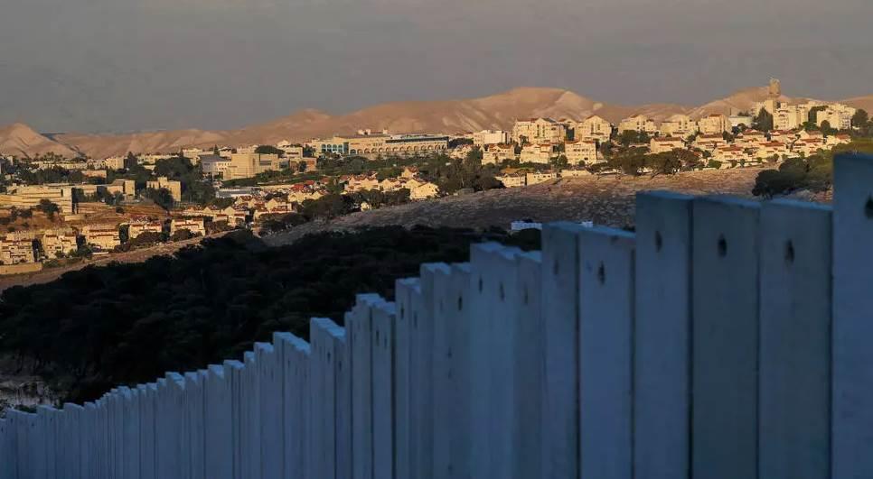 مستوطنة معاليه ادوميم الاسرائيلية في الضفة الغربية المحتلة (أ ف ب)