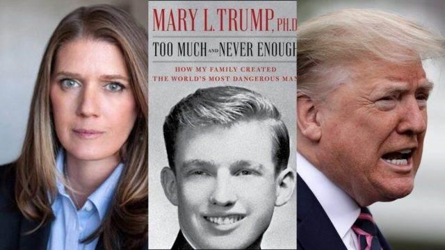 كتاب ماري ترامب أصبح الكتاب الأكثر مبيعاً على قائمة