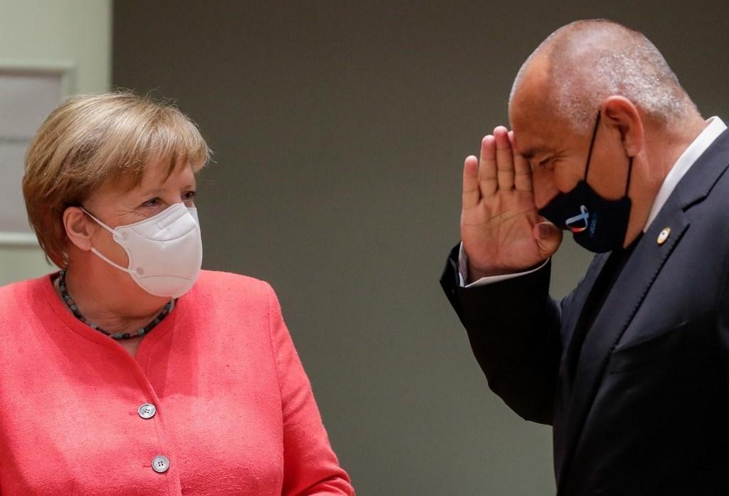 قادة الاتحاد الأوروبي يجتمعون لأول مرة وجهاً لوجه منذ خمسة أشهر (أ ف ب)