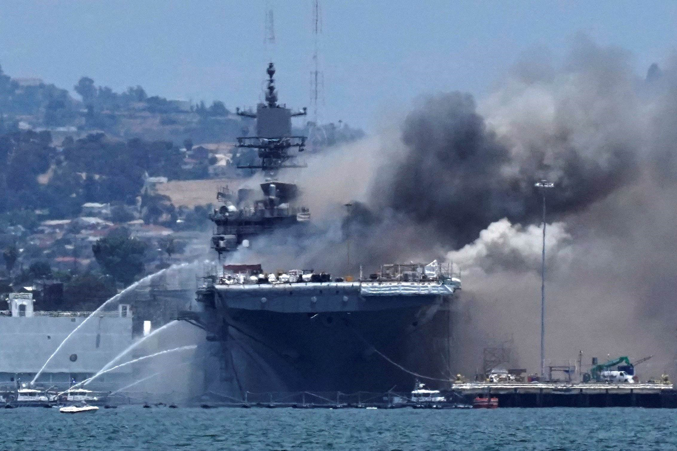البحرية الأميركية: من السابق لأوانه نشر أيّ تنبّؤات أو قطع وعود بشأن مستقبل السفينة الحربيّة