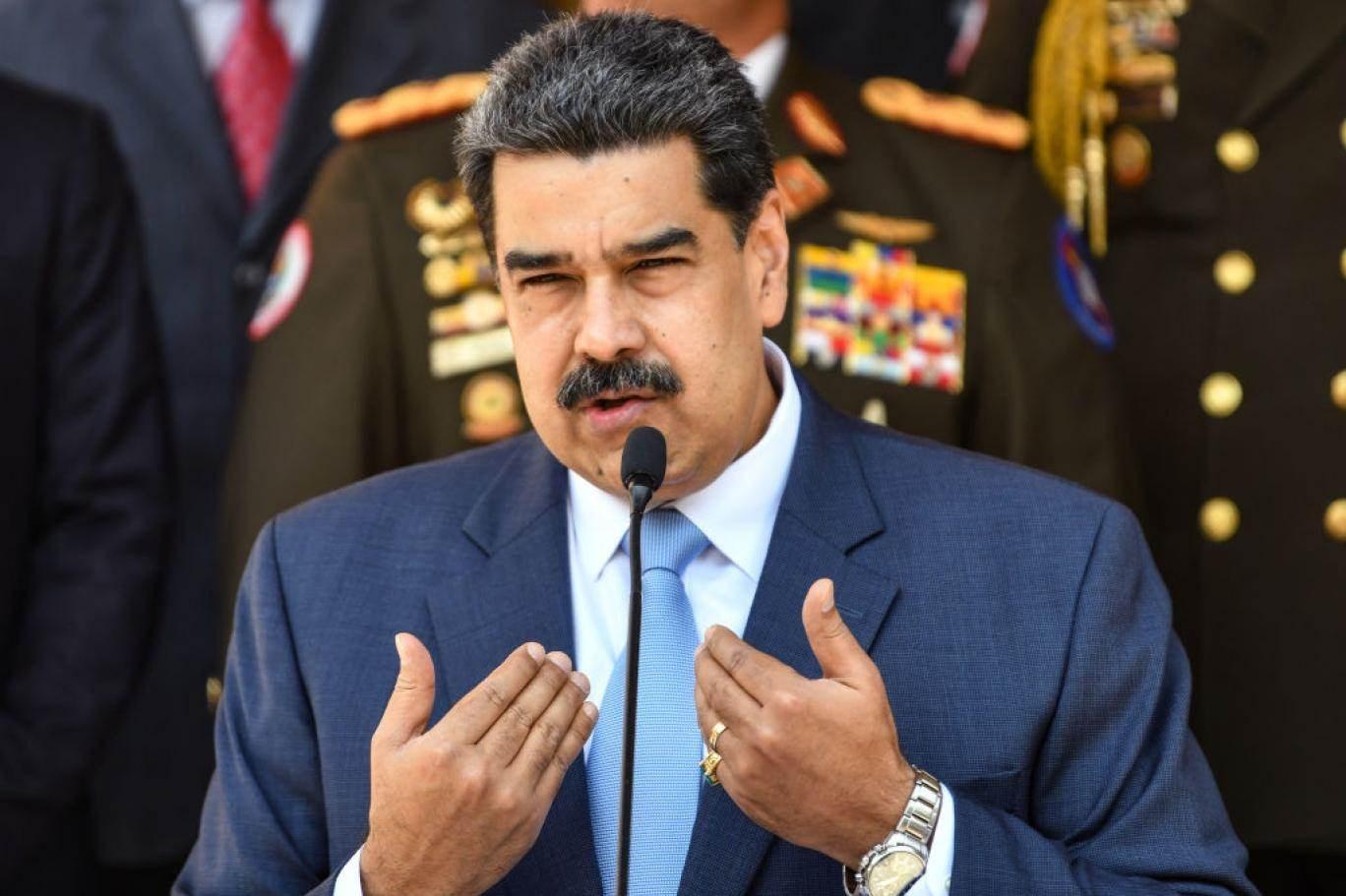 مادورو علق الحوار الفنزويلي الأميركي في أيار/مايو السابق على خلفية محاولة الهجوم البحري على بلاده