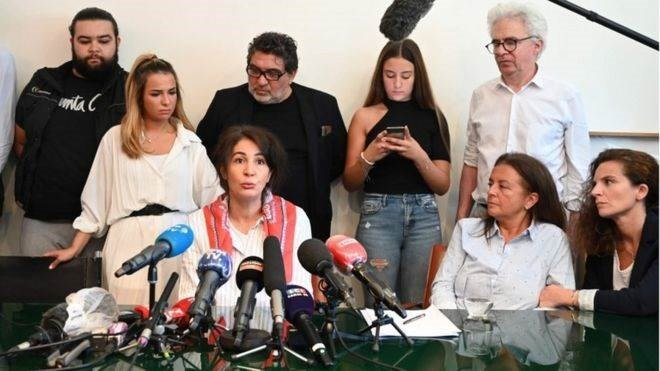 طالبت عائلة السيد شوفيات باتهامات تحمل عقوبات أشد (أ ف ب)