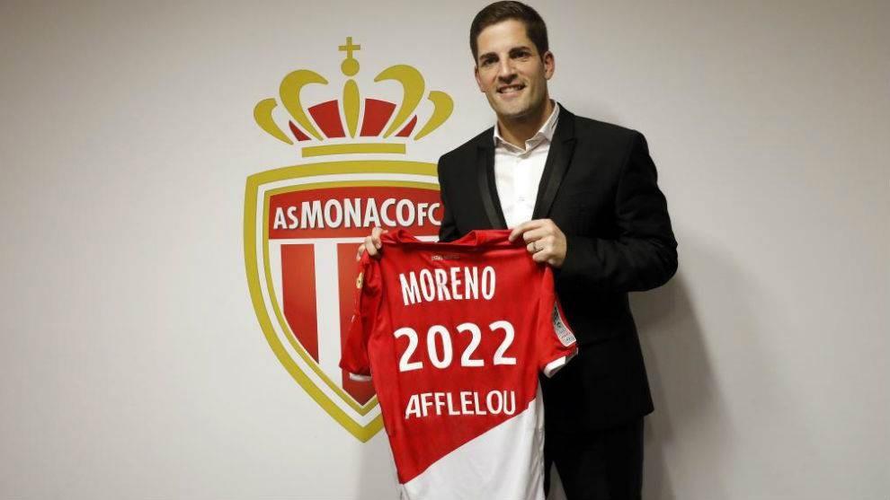 روبرت مورينيو مع موناكو (أرشيف)