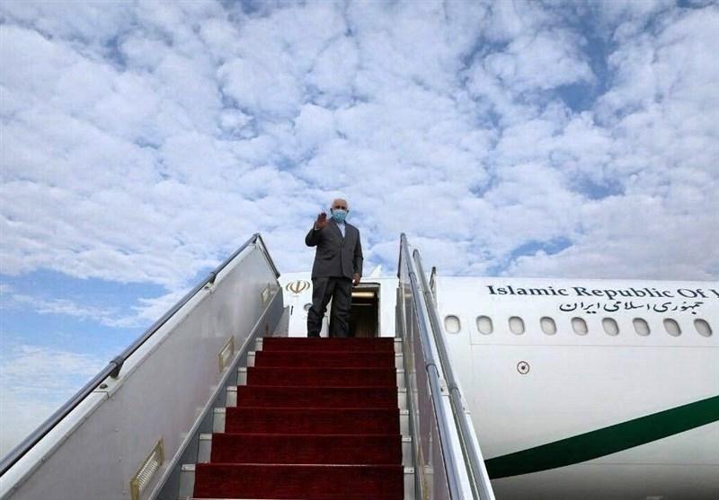 وزير الخارجية الإيراني محمد جواد ظريف يصل إلى بغداد صباح اليوم