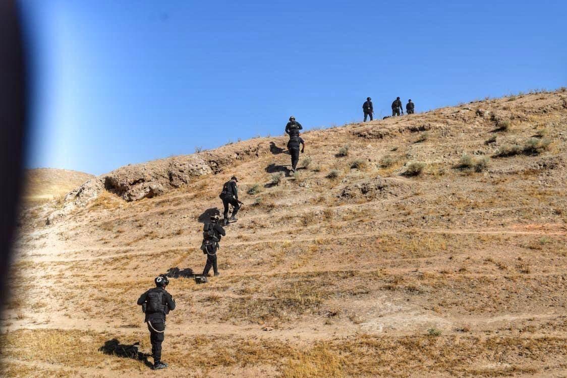 خلية الإعلام الأمني في العراق تعلن إنطلاق عملية واسعة شمالي بغداد