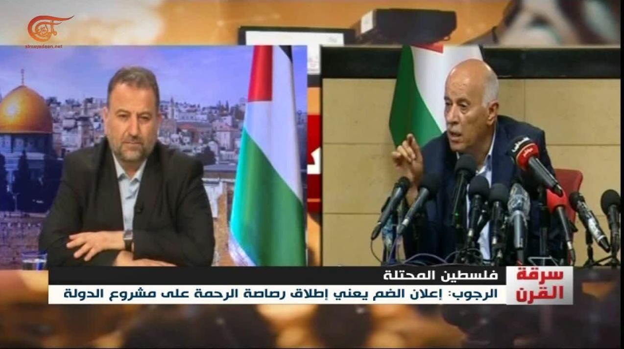 العاروري: لم نكن نحن وفتح مختلفين على مواجهة الاحتلال حتى عندما كنّا على خلاف معها