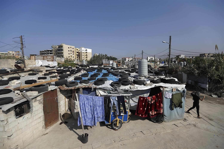 مناطق العشوائيات في طرابلس