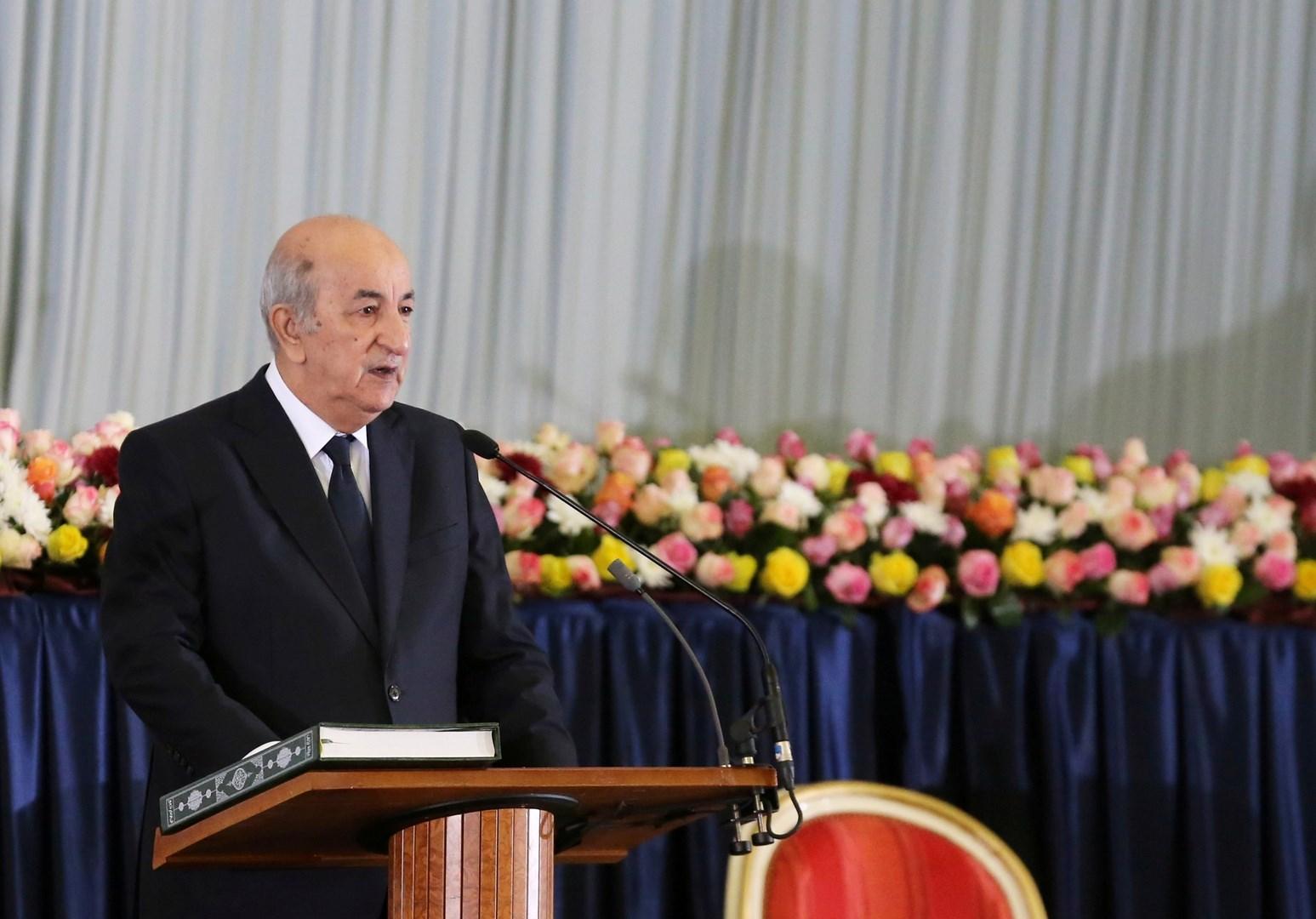 الرئيس الجزائري عبد المجيد تبون يشدد على مرجعية الشرعية الشعبية الليبية