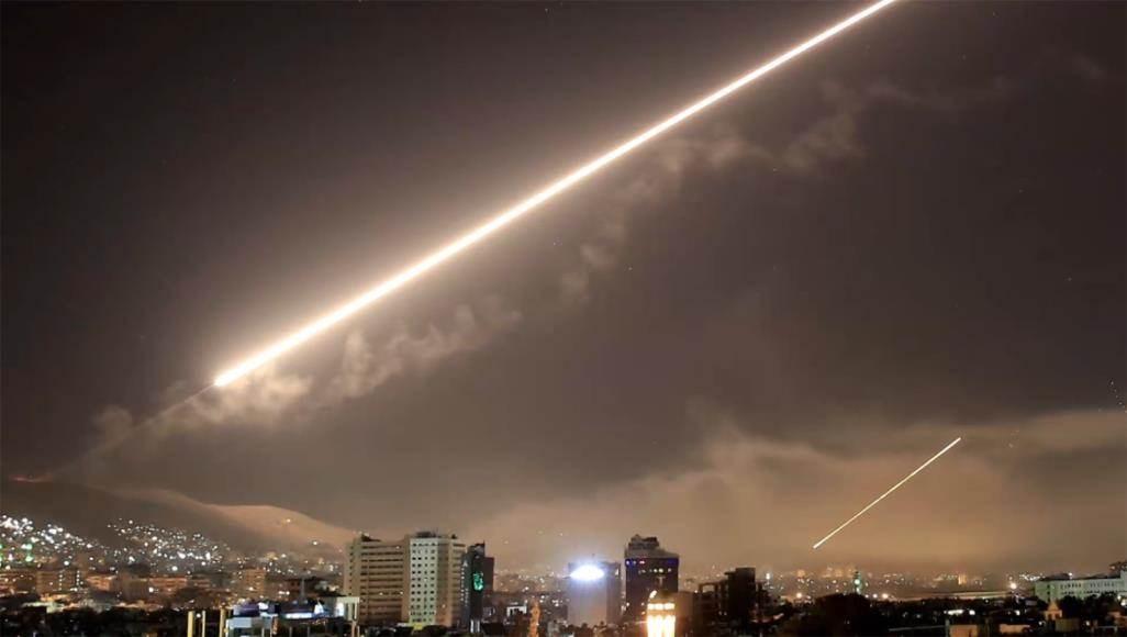 صورة من اعتداء إسرائيلي سابق على سوريا