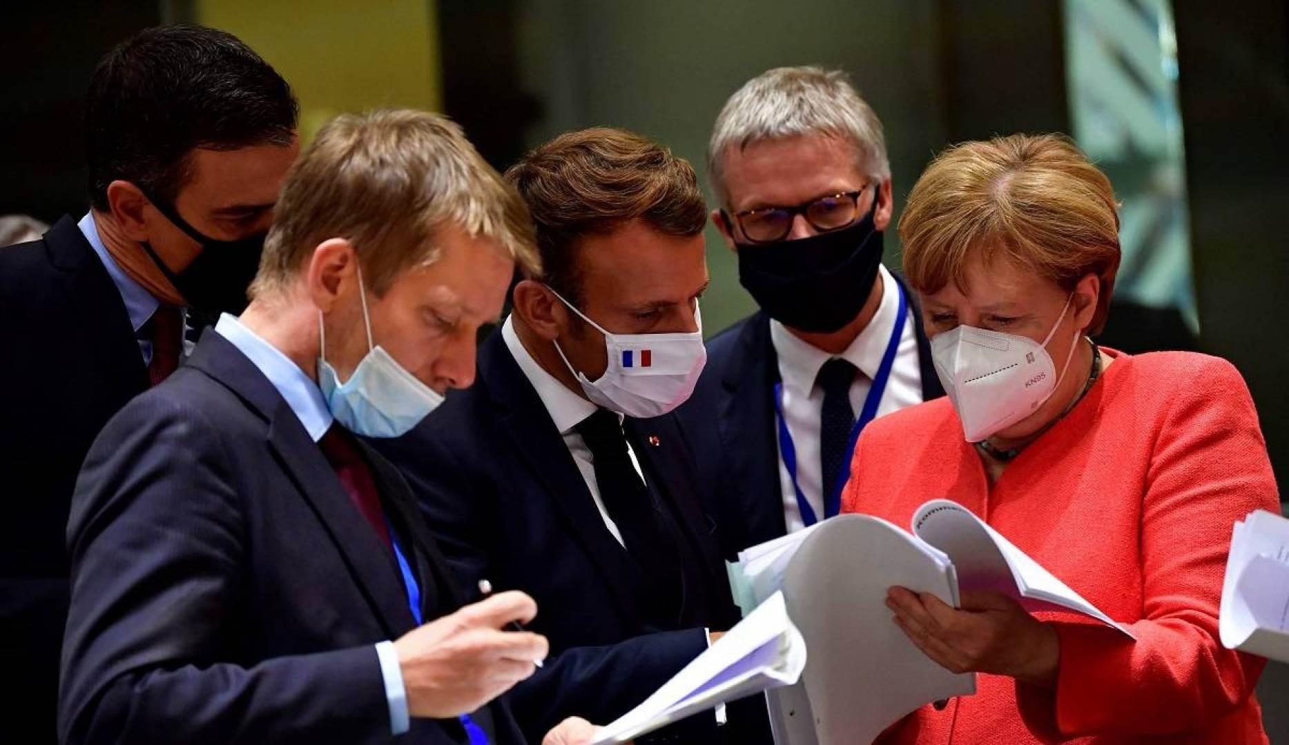 القمة خلصت إلى الاتفاق خطّة تبلغ قيمتها 750 مليار يورو