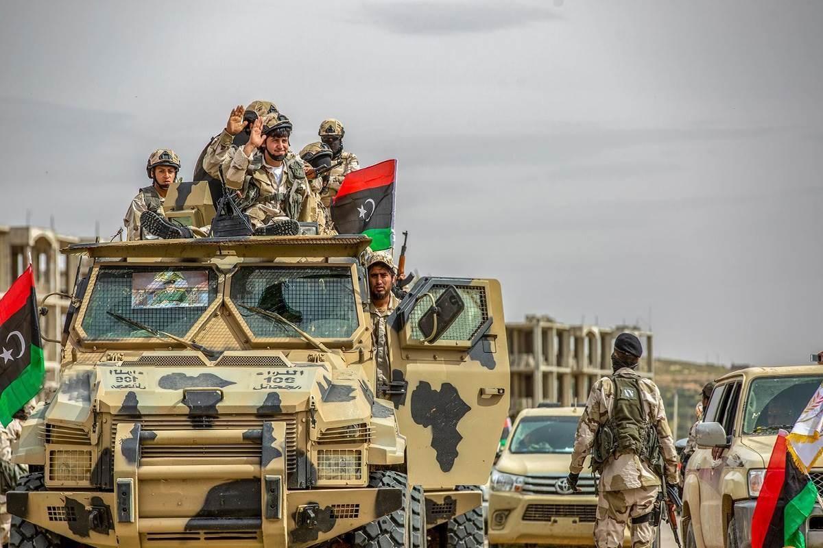 قوات حفتر في سرت والجفرة الليبية