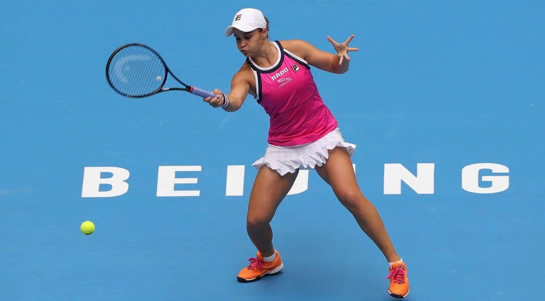 الأسترالية آشلي بارتي في بطولة الصين المفتوحة (أرشيف)