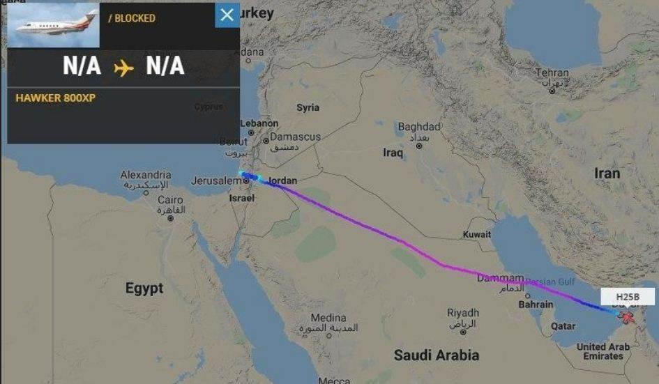 مسار الرحلات التي ستقوم الشركة الإسرائيلي بتغطيتها