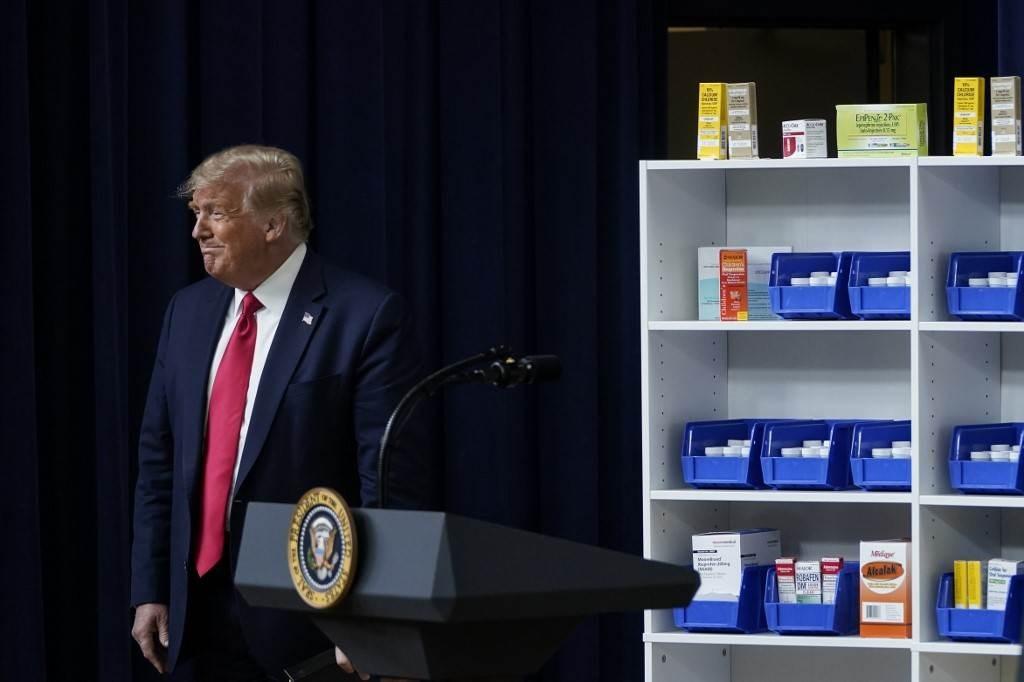 وقّع ترامب أوامر تنفيذية تهدف إلى خفض أسعار الأدوية التي تستلزم وصفة طبية في الولايات المتحدة (أ ف ب).