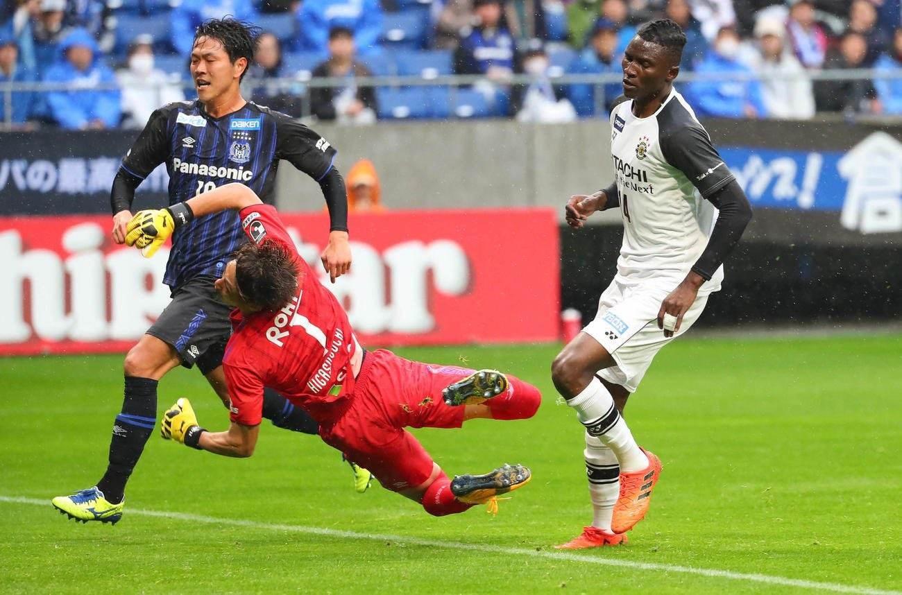 مباراة في الدوري الياباني