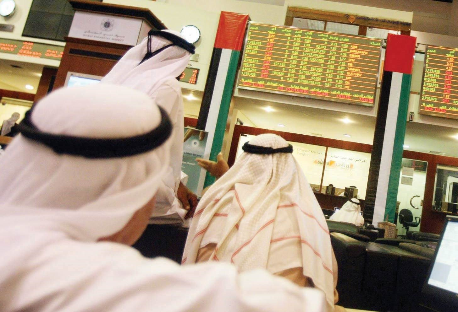 بورصتا دبي وأبو ظبي تحقق ارتفاعات عند الإغلاق اليوم الأحد