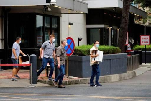 أمرت الصين بإغلاق قنصلية أميركا في تشنغدو وأعطتها مهلة حتى يوم الإثنين لإخلاء المبنى