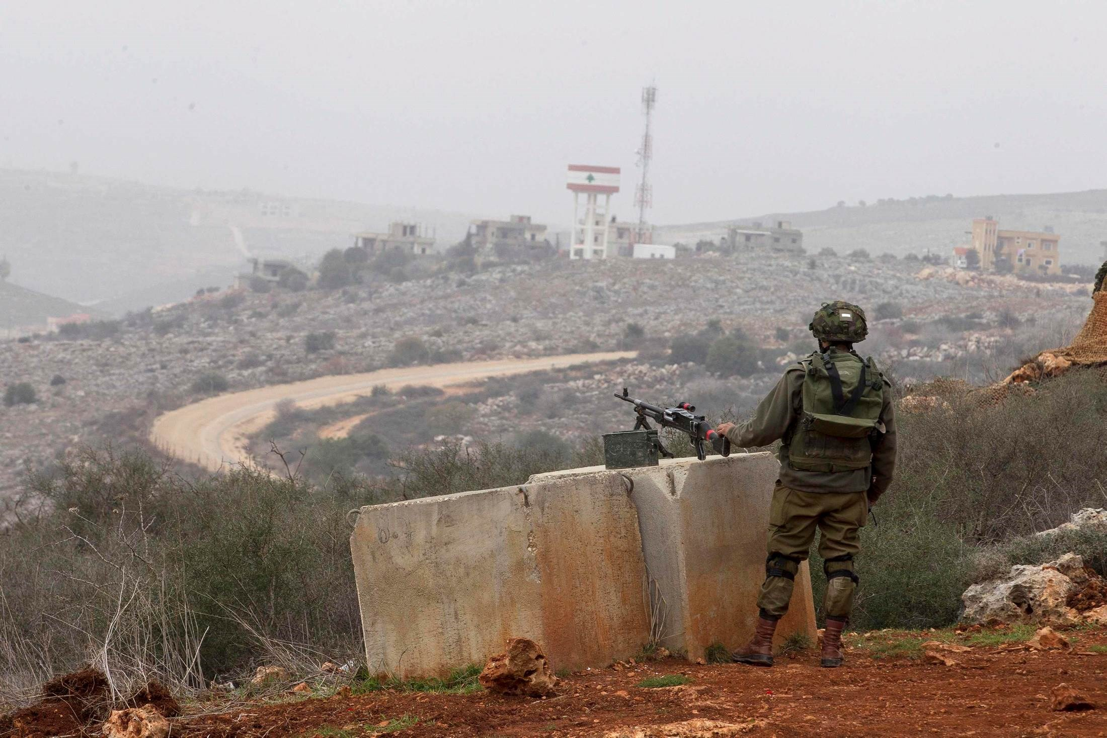 الحدود اللبنانية مع فلسطين المحتلة (صورة أرشيفية)