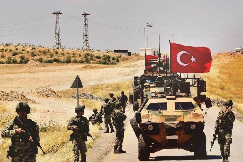 القوات التركية في شمال شرق سوريا