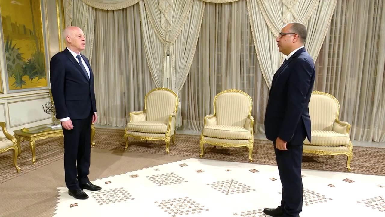 الرئيس التونسي يكلّف هشام المشيشي بتشكيل الحكومة.