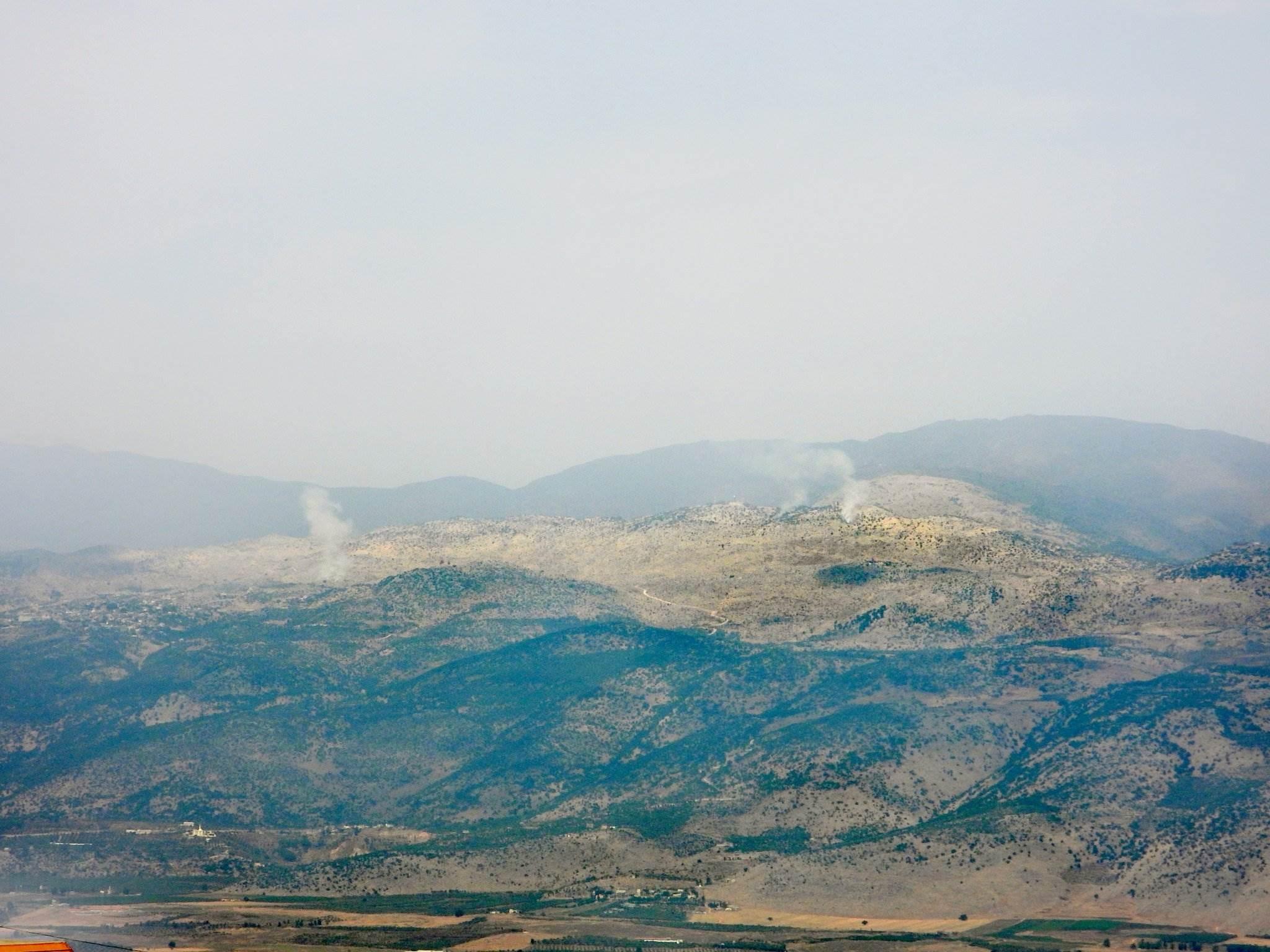 وسائل إعلام إسرائيلية تتحدث عن وقوع حدث أمني في مزارع شبعا اللبنانية المحتلة
