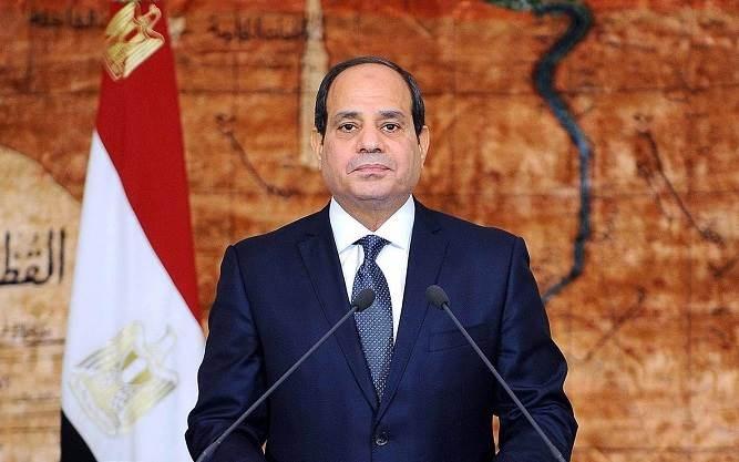 السيسي يطمئن المصريين بموضوع سد النهضة