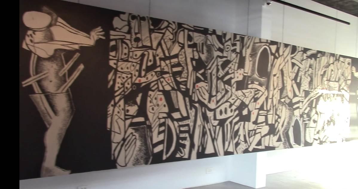 جدارية رغبات مضمرة لضياء عزاوي