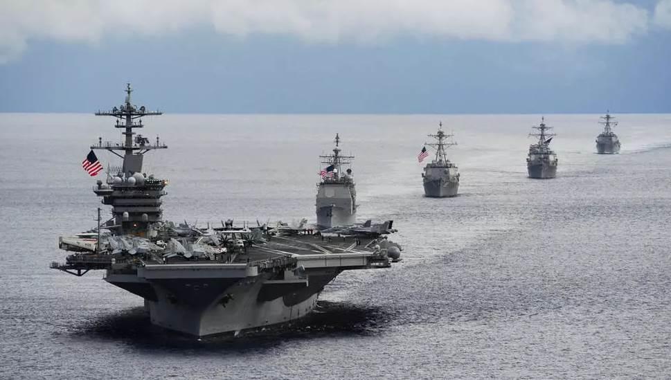 مجموعة بحرية نووية أمريكية تنظم دوريات في بحر الصين الجنوبي