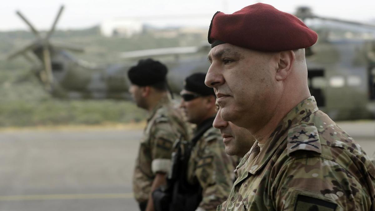 قائد الجيش اللبناني: الجيش سيبقى صمّام أمان وشريان الحياة للوطن ولأهله