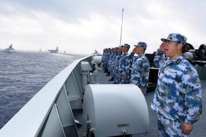 قوات بحرية صينية في بحر الصين الجنوبي (أرشيف)